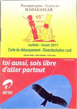 Passeport pour Madagascar: No. 65 Juillet-Août 2011