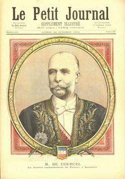 Le Petit Journal: Supplément Illustré: Lundi 22 Octobre 1894: Numéro 205