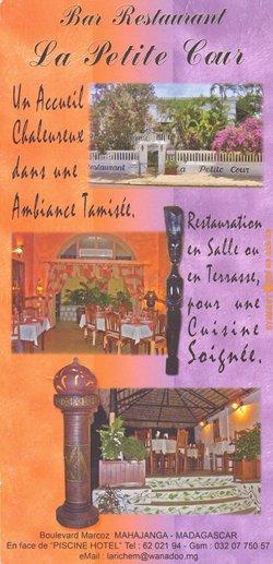 Bar Restaurant La Petite Cour