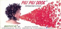 Pili Pili Dock: Madagascar Products