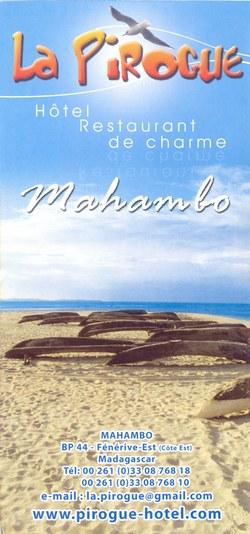 La Pirogue: Mahambo