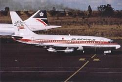 Air Madagascar Boeing 737-200, 5R-MFB: Jomo Kenyatta International Airport, Nairobi, Kenya, October 1993