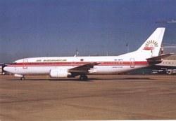 Air Madagascar Boeing 737-300, 5R-MFH: O. R. Tambo International Airport, Johannesburg, South Africa