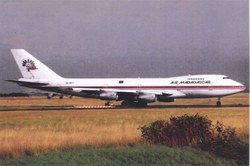 Air Madagascar Boeing 747-200, 5R-MFT: Charles de Gaulle Airport, Paris, France