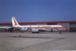 Air Madagascar Boeing 707-300, F-BLCB: Paris Orly Airport, Paris, France