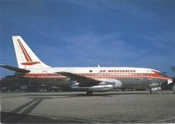 Air Madagascar Boeing 737-200, 5R-MFB: Paris Orly Airport, Paris, France
