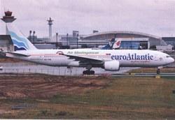euroAtlantic/Air Madagascar Boeing 777-200, CS-TFM: Frankfurt Airport, Germany, September 2011