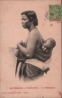 7. Indigène Bara: Comptoir Photographique G. Bodemer, Majunga