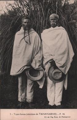 3. Types hovas (environs de Tananarive) - F. N.: Cl. de l'Ag. Econ. de Madagascar