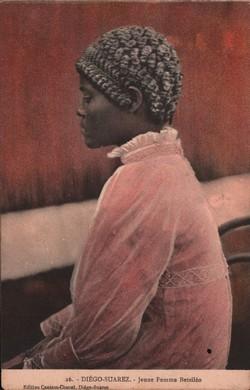 26. Diégo-Suarez. Jeune Femme Betsiléo: Edition Cassam-Chenaï, Diégo-Suarez
