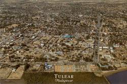 Tulear, Madagascar: Vue a?rienne d'une partie de la ville