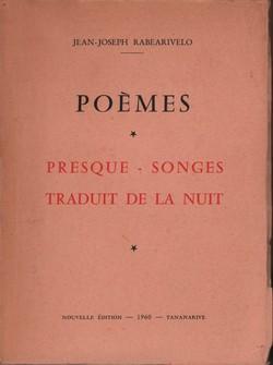 Poèmes: Presque-songes traduit de la nuit