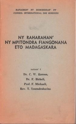 Ny Raharahan'ny Mpitondra Fiangonana eto Madagaskara: Amin'izao fotoana izao sy amin'ny ho avy