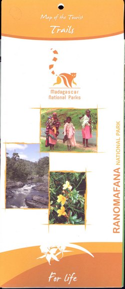 Ranomafana National Park: Map of the Tourist Trails