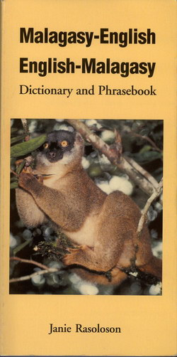 Malagasy-English English-Malagasy Dictionary and Phrasebook