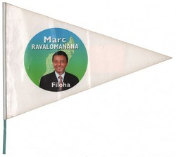 Marc Ravalomanana: Filoha: Hand flag