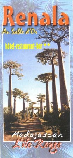 Renala: Au Sable d'Or: hôtel-restaurant-bar: Madagascar, L'île Rouge