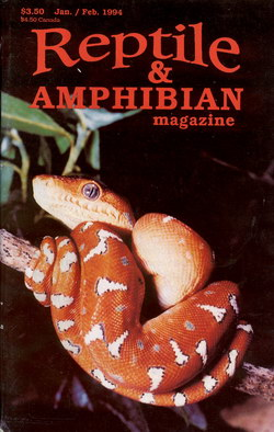 Reptile & Amphibian Magazine: Jan/Feb 1994 (Issue 26)