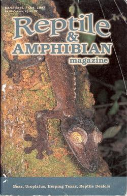 Reptile & Amphibian Magazine: Sept/Oct 1997 (Issue 50)