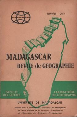 Madagascar Revue de Géographie: No. 30, Janvier–Juin 1977