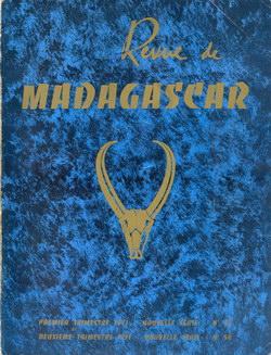 Revue de Madagascar: Nouvelle Série: Nos 53-54: Premier et Deuxième Trimestre 1971