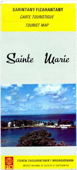Sarintany Fizahantany / Carte Touristique / Tourist Map: Sainte Marie