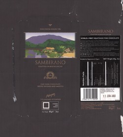 Sambirano: Crafted in Madagascar: Fine Dark Chocolate: Deeply Intense and Smooth