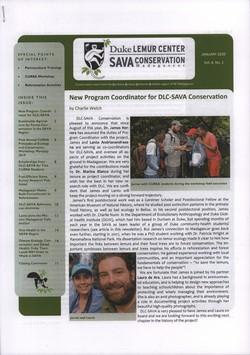 SAVA Conservation: Volume 8, Issue 1: January 2020