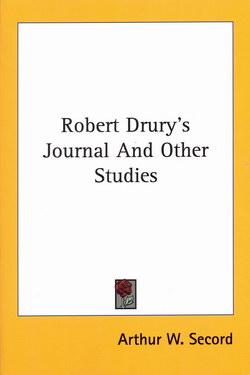 Robert Drury's Journal And Other Studies