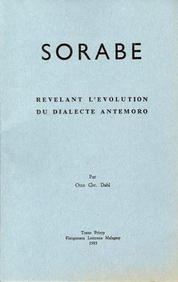 Sorabe: R?v?lant l'Evolution du Dialecte Antemoro