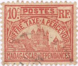 Rova: 10-Centime Postage Stamp