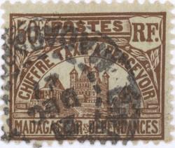 Rova: 50-Centime Postage Stamp