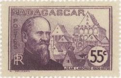 Jean Laborde: 55-Centime Postage Stamp