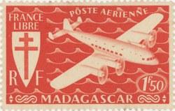 Mailplane: 2-Franc Postage Stamp