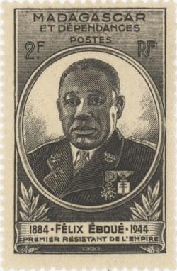 Félix Eboué: 2-Franc Postage Stamp