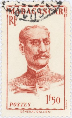 General Gallieni: 1.50-Franc Postage Stamp