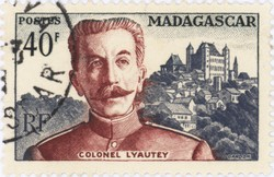 Colonel Lyautey: 40-Franc Postage Stamp