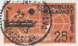 Tamatave International Trade Fair: 25-Franc Postage Stamp