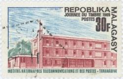 Stamp Day 1969: 30-Franc Postage Stamp