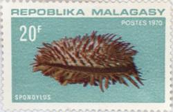 Spondylus: 20-Franc Postage Stamp