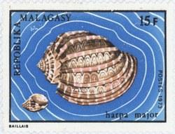 Harpa major: 15-Franc Postage Stamp