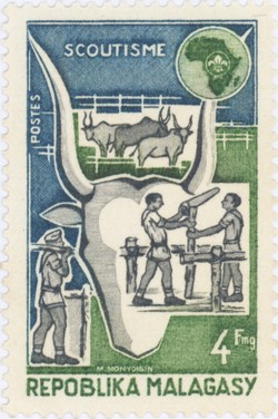 World Scout Conference: 4-Franc Postage Stamp