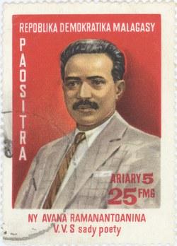 Ny Avana Ramanantoanina: 25-Franc (5-Ariary) Postage Stamp