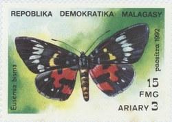 Episteme bisma: 15-Franc (3-Ariary) Postage Stamp