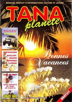 Tana Planète: Numéro 21 – Juillet/Août 2009