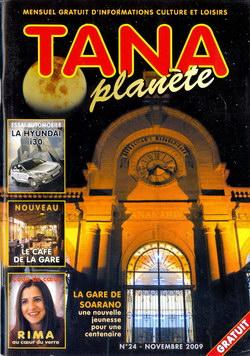 Tana Planète: Numéro 24 – Novembre 2009