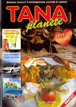 Tana Planète: Numéro 9 – Juin 2008