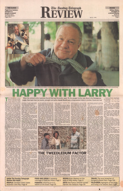 Happy with Larry: The Sunday Telegraph Review, 21 April 1991
