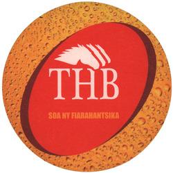 THB Beer Mat: Circular