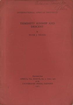 Tsimihety Kinship and Descent